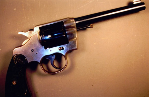 Colt Army Special Model Revolver 2